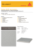Sample #1 Sikafloor-264 textured slip resistant coating for medium to heavy duty use