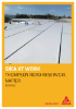 Roof refurbishment of Thompson Rd Reservoir, Napier - Sika Project Reference